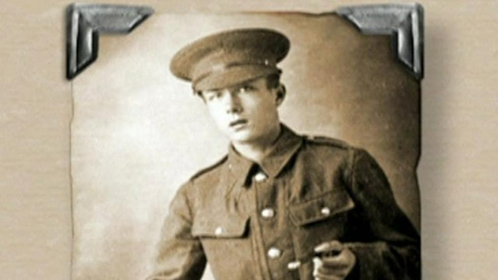 World War One: Horace, the 14-year-old soldier