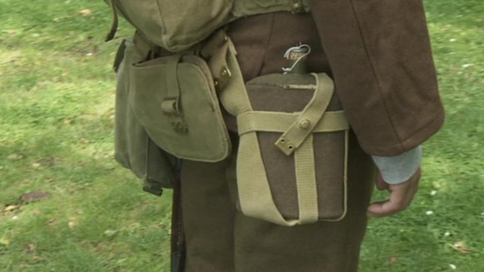 What did WW1 soldiers have in kit