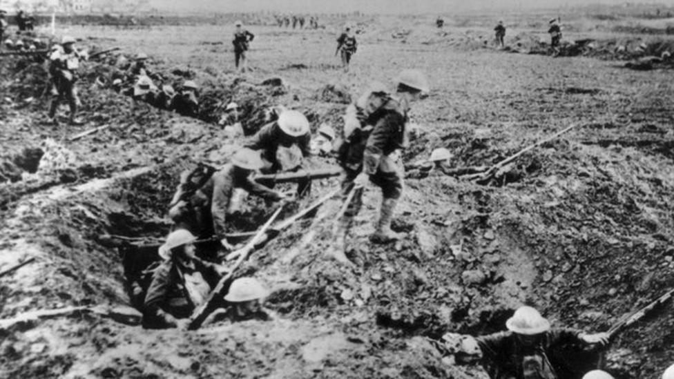 World War One tactics