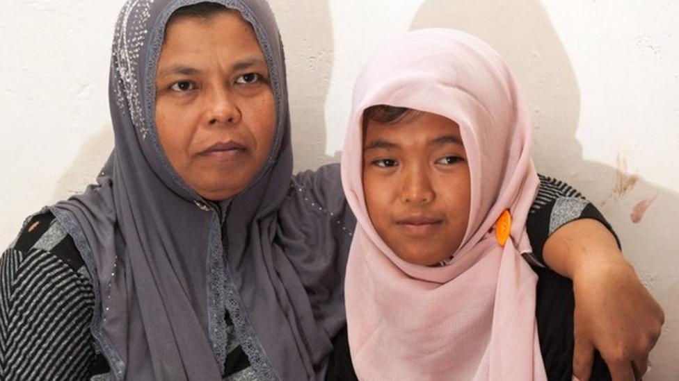 Tsunami girl found after 10 years