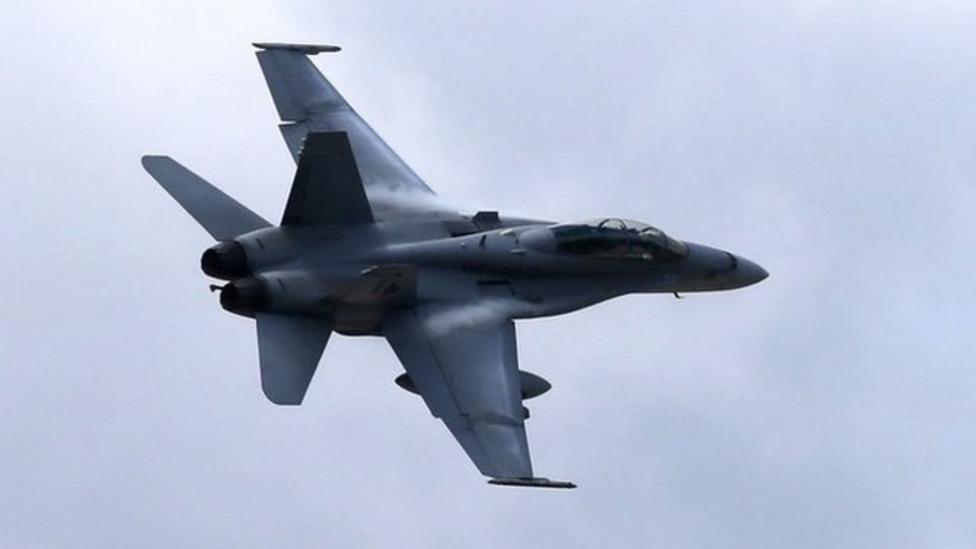 US air strikes on Iraq militants