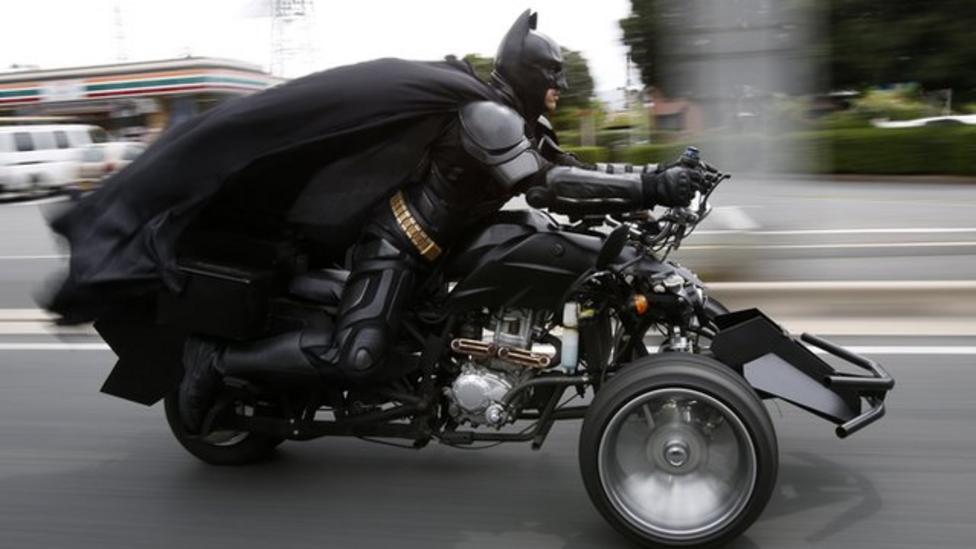 Meet Chibatman - Japan's new superhero