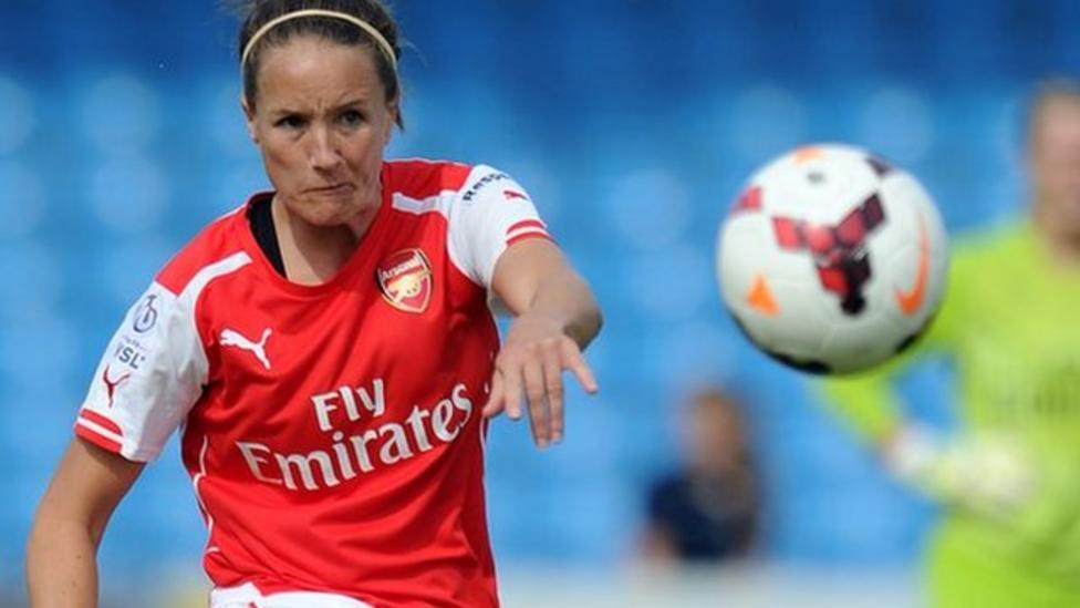 Women s Super League  Arsenal climb table after Birmingham win - BBC ... 7da747e9ab