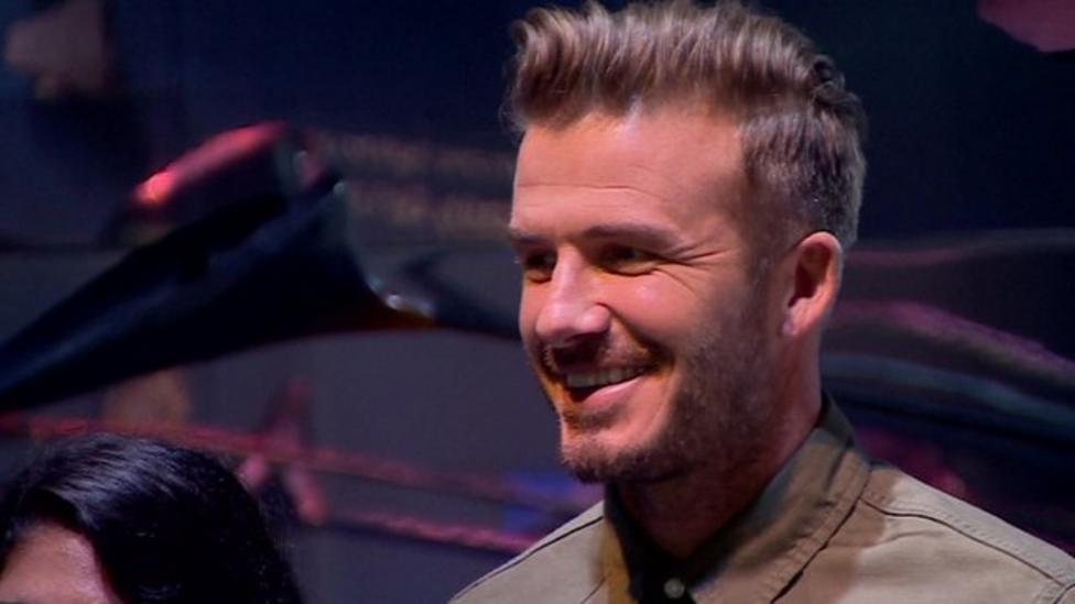 David Beckham talks about England
