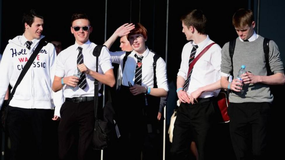 Teenagers debate Scotland's future