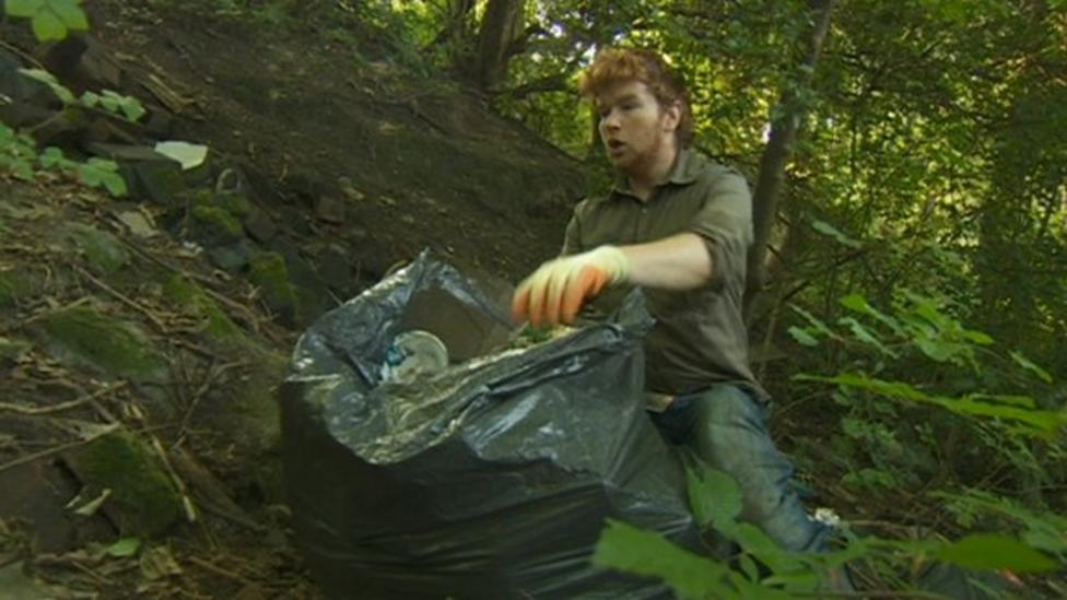 Litter pickers join global clean-up day
