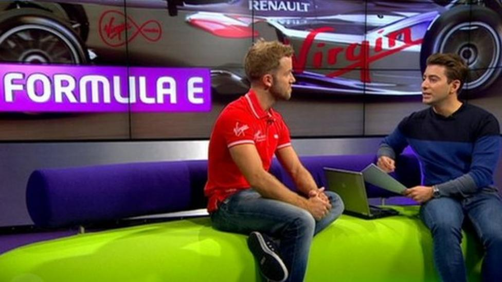 Electric cars in Formula E racing