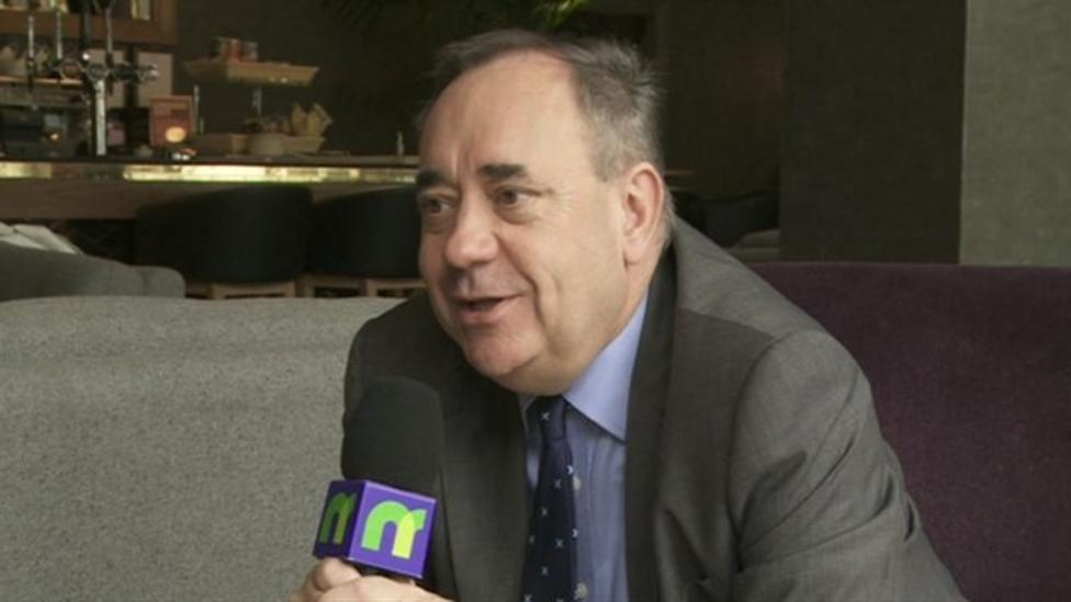 Salmond on what it means to be Scottish