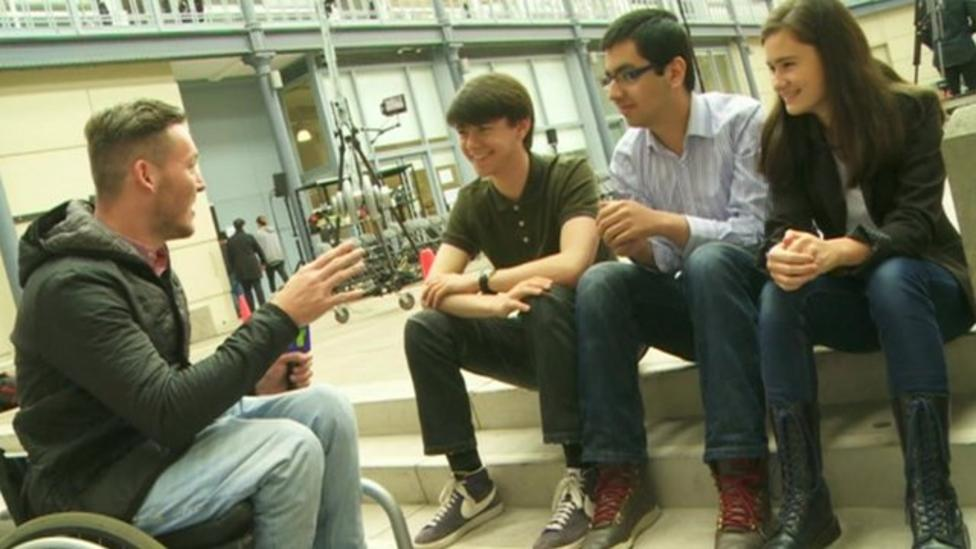 Young voters discuss referendum