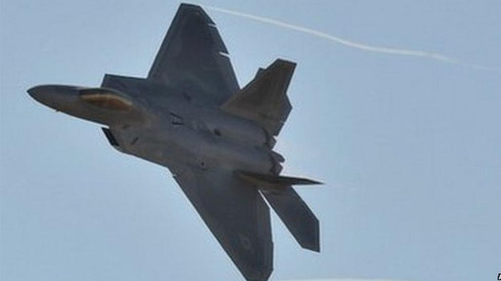 US strikes Islamic State in Syria