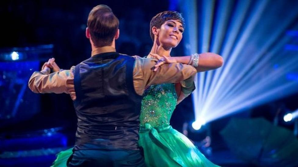 Strictly stars hit the dance floor