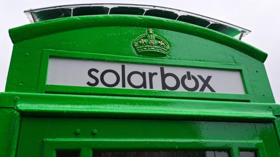 What can you do in a green phone box?