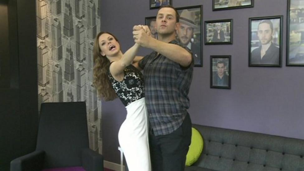 Sneak peek at Scott Mills's tango