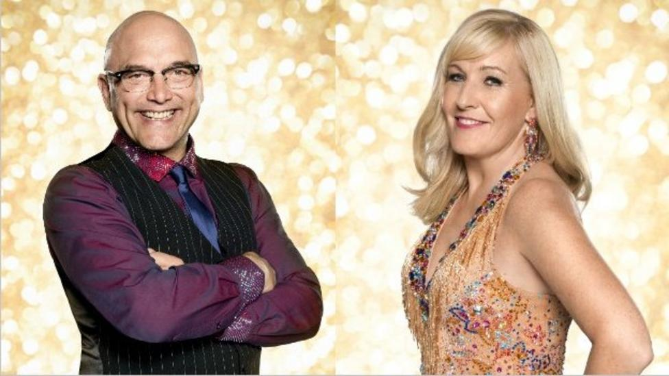 Who's first out of Strictly?