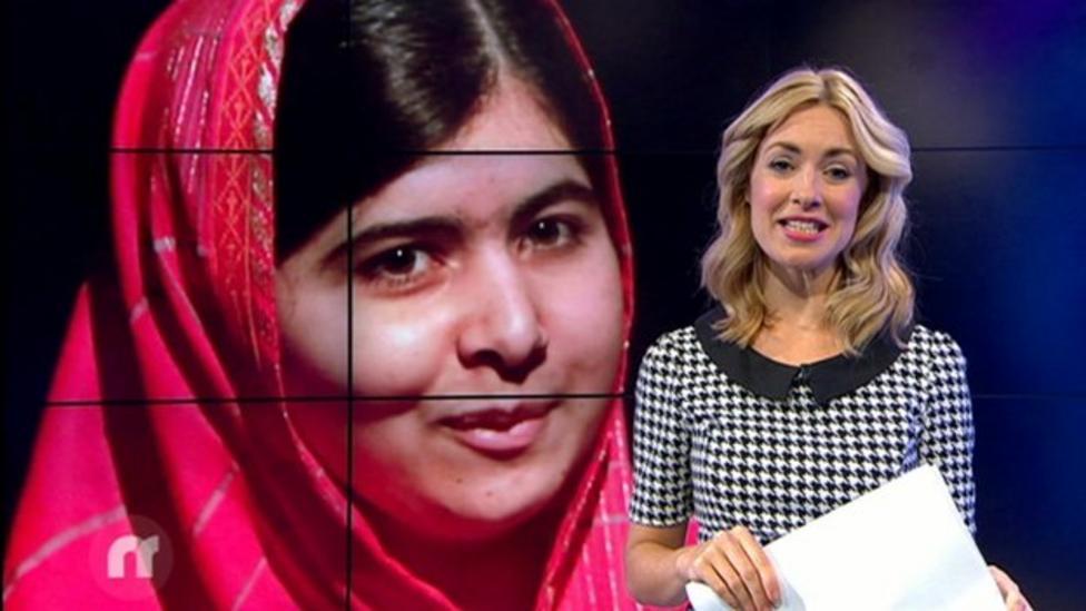 Newsround features Malala Yousafzai