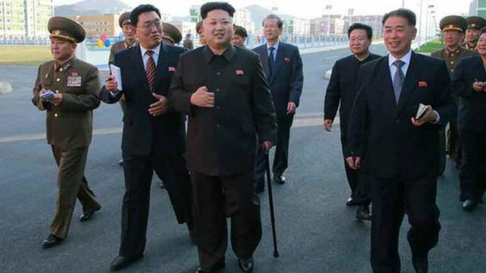 North Korean leader reappears