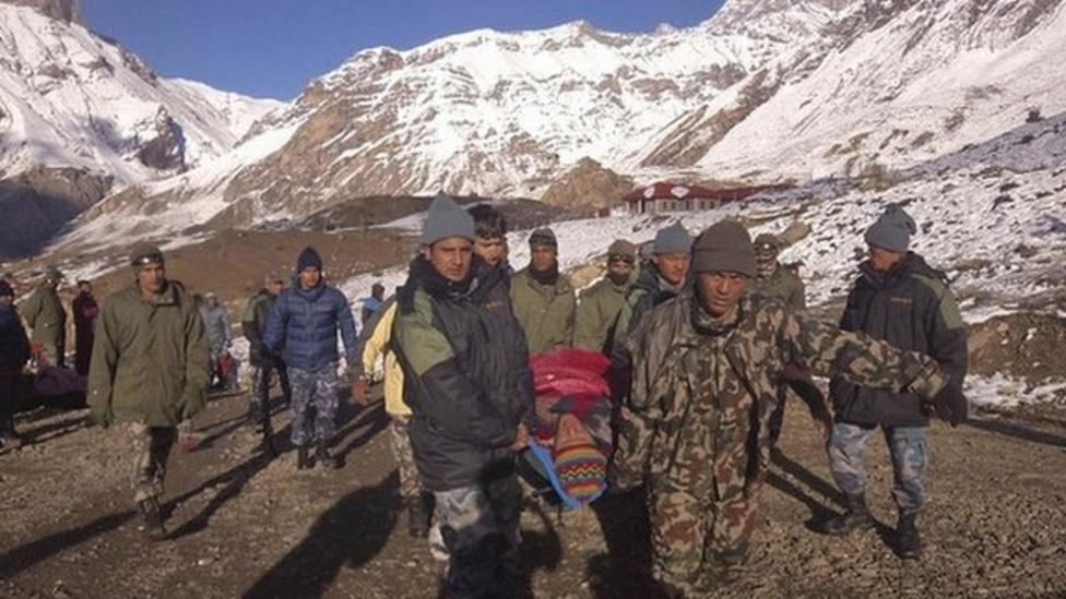 40 rescued after Himalayan blizzards