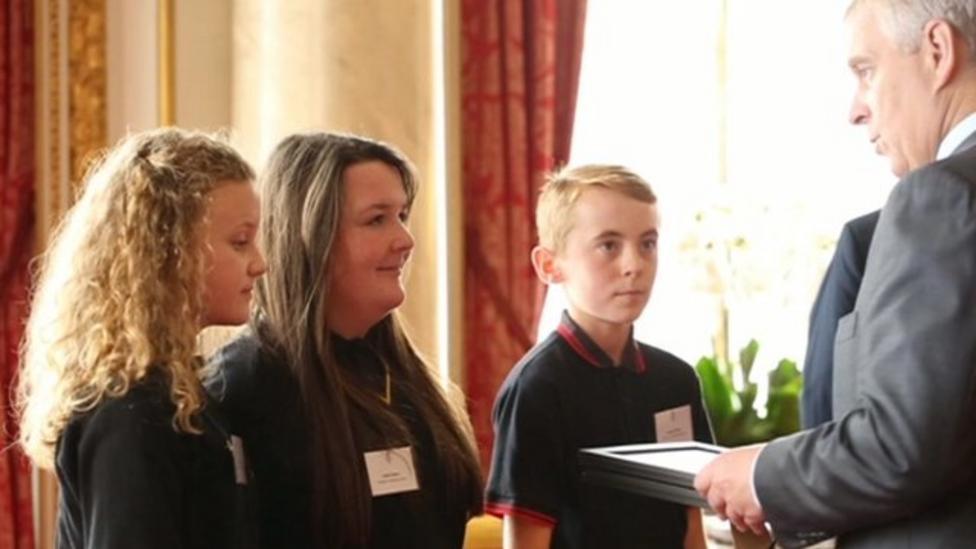 Kids win TeenTech environment prize
