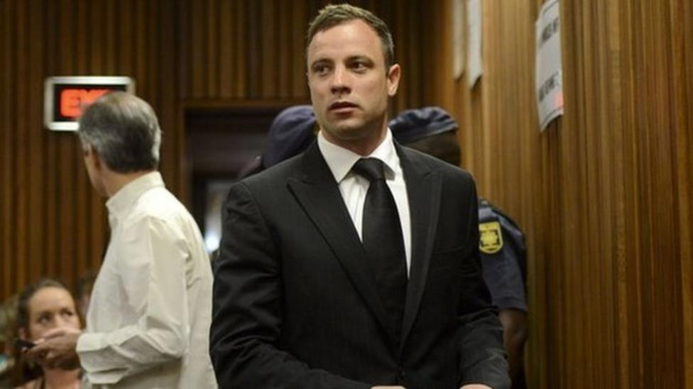 Pistorius sentenced to five years