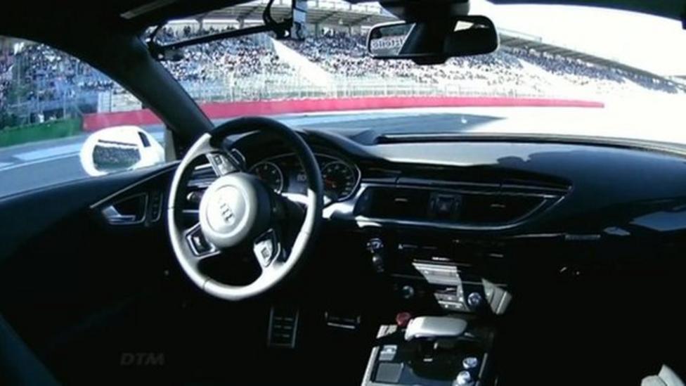 Self-driving car breaks speed record
