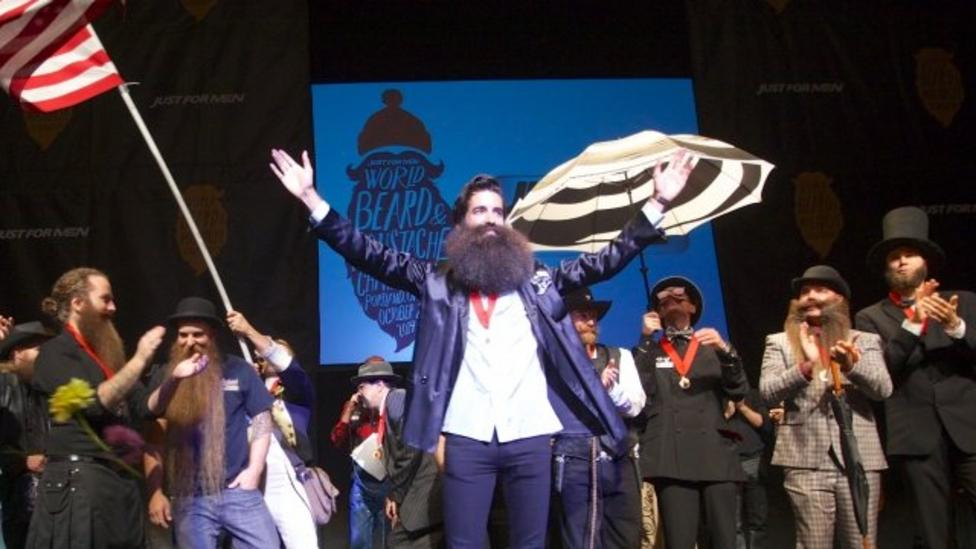 Beard world champion crowned