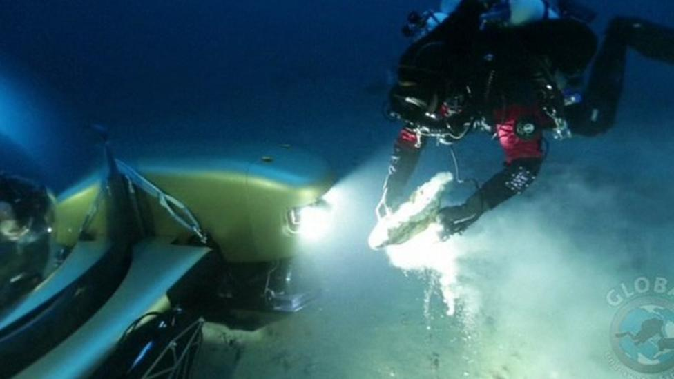 Greek shipwreck reveals ancient finds