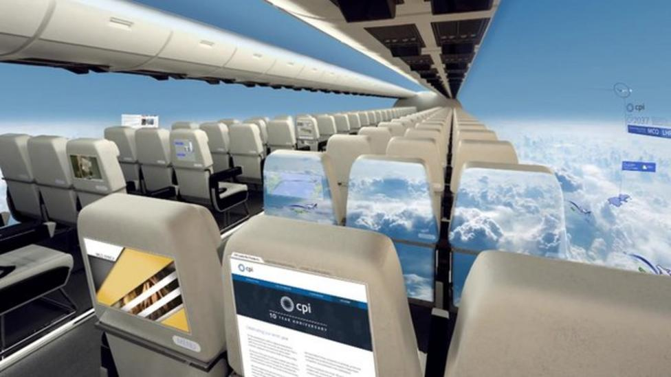 The plane without windows