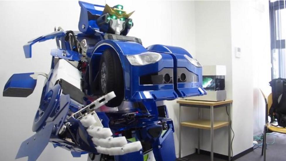 Amazing Transformers robot