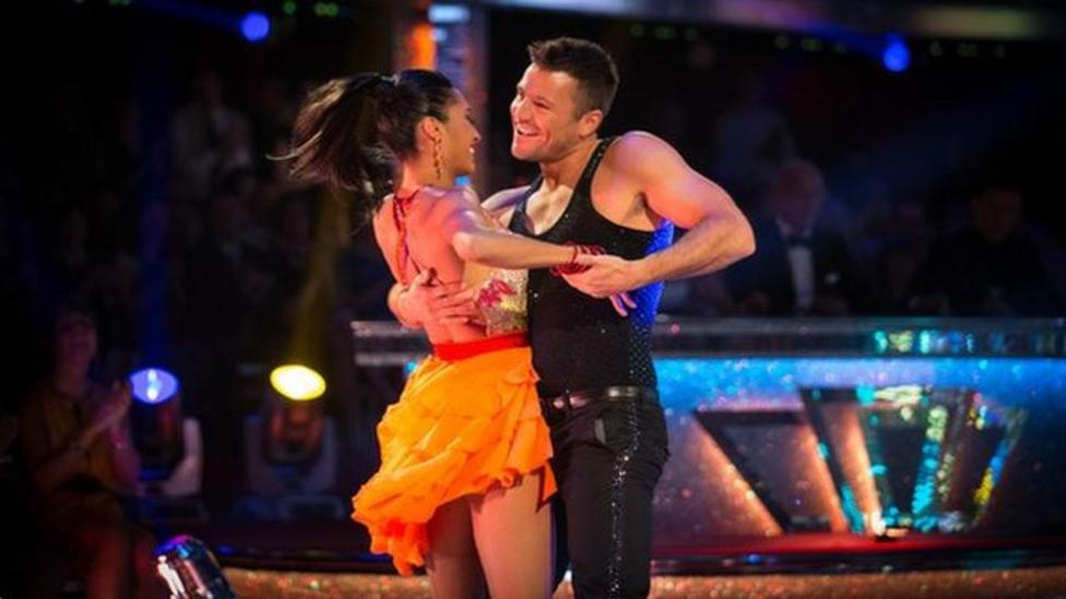 NR speaks to Strictly star Mark Wright