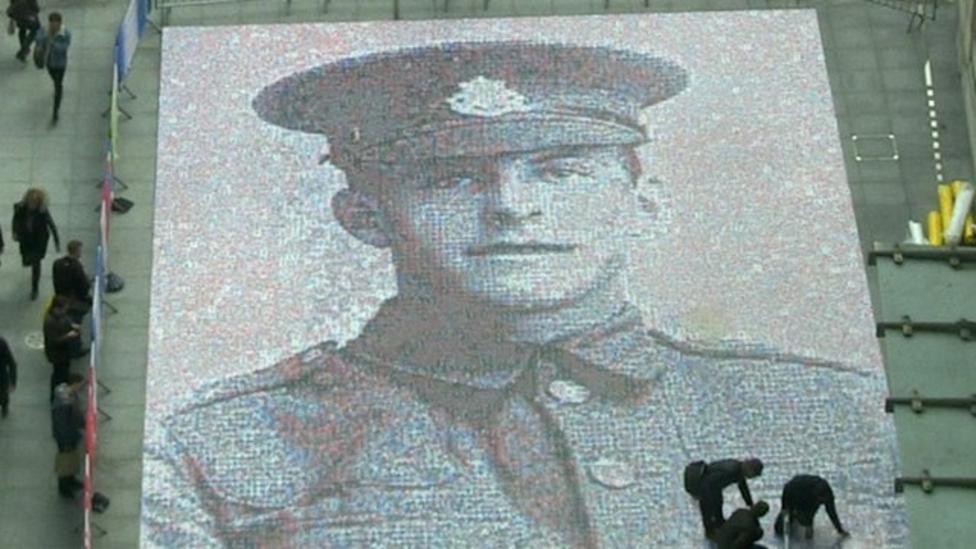 Watch: Amazing time-lapse of WWI mosaic