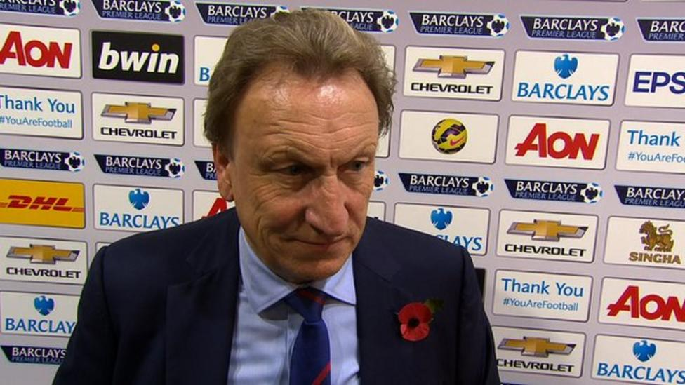 Man Utd 1-0 Crystal Pa: Nothing going right for us - Warnock ...