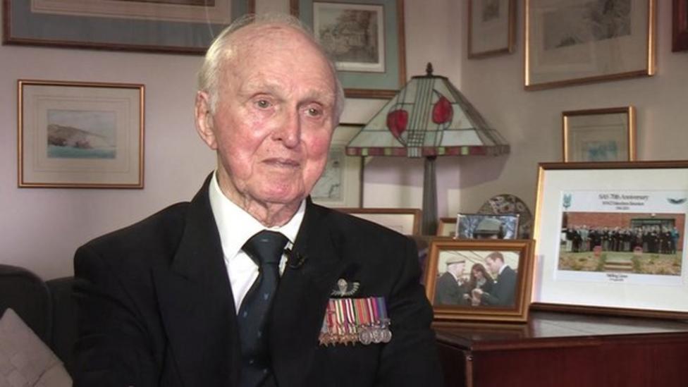 War veteran on Remembrance Sunday