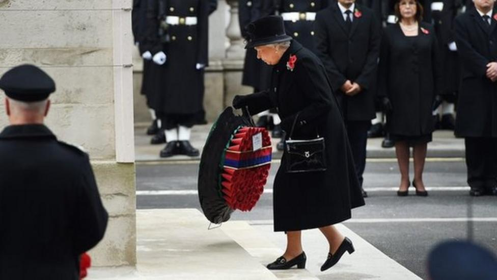 Events mark Remembrance Sunday