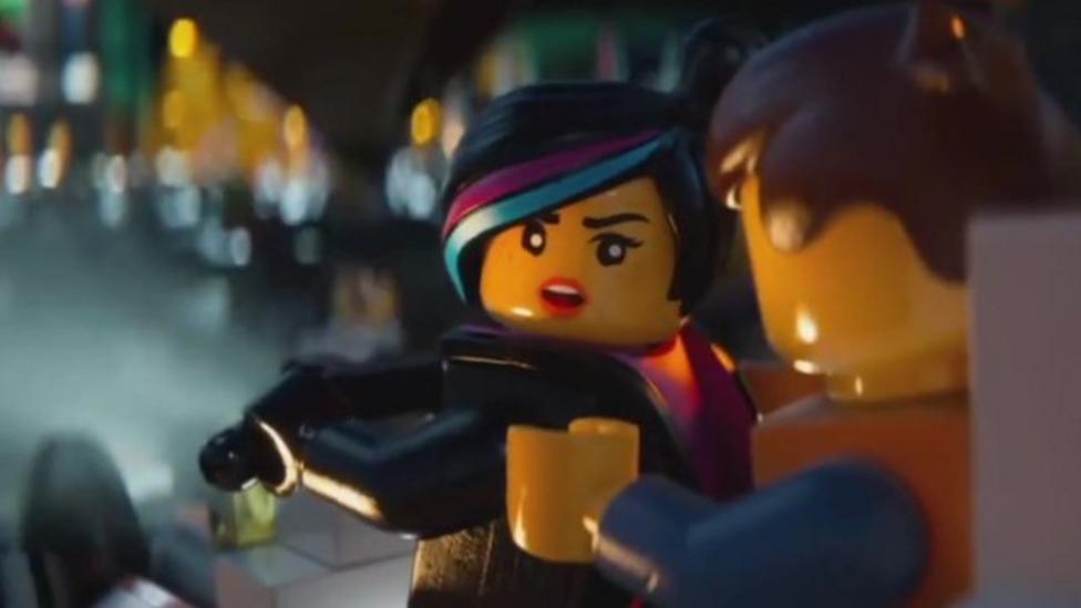More female characters in Lego film