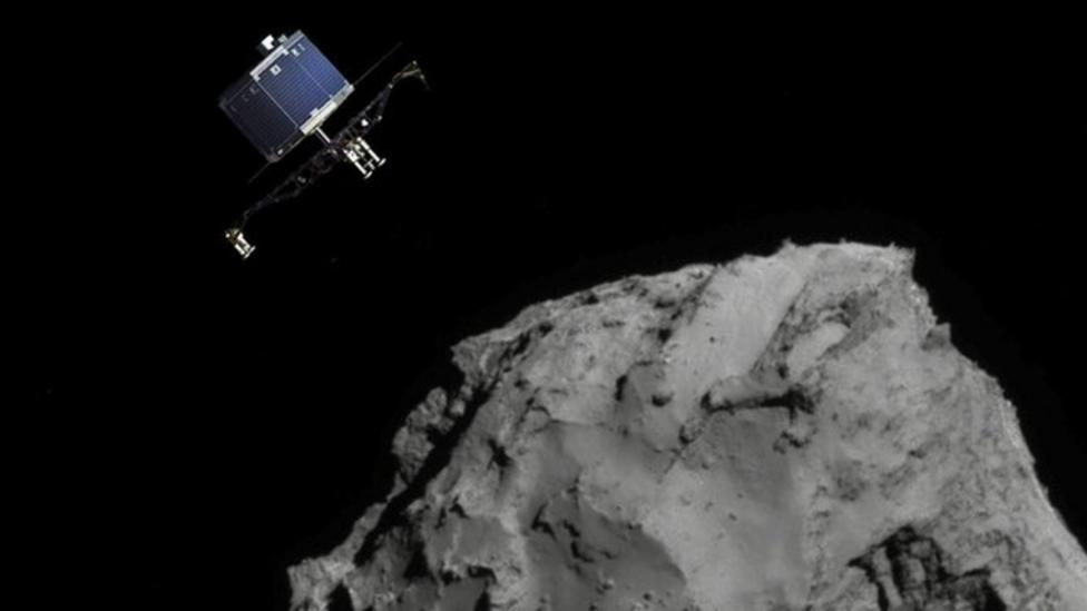 Comet lander has run out of battery
