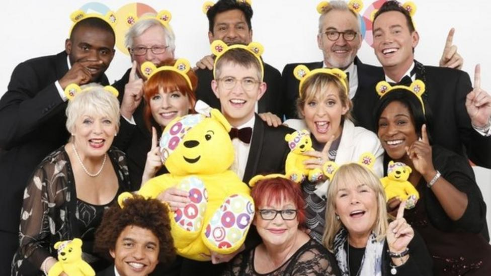 Children in Need choir tops the chart
