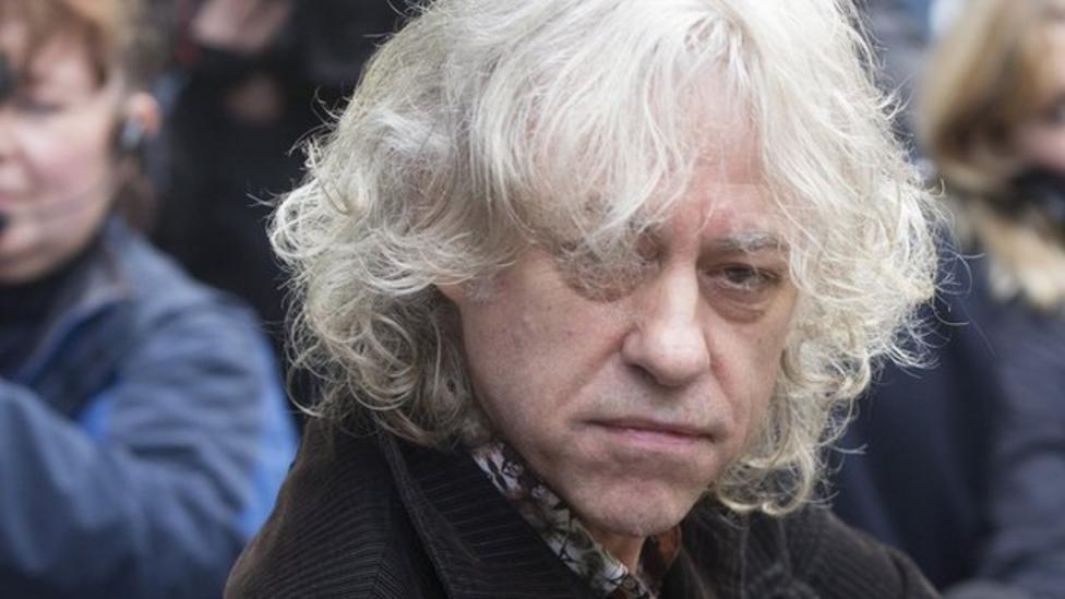 Sir Bob Geldof talks about Band Aid 30