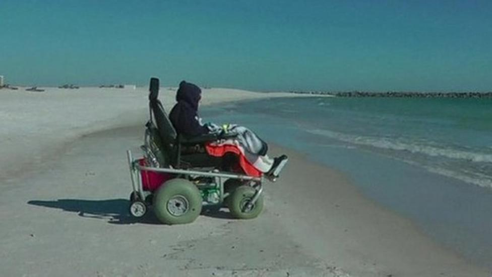 100-year-old sees ocean for first time