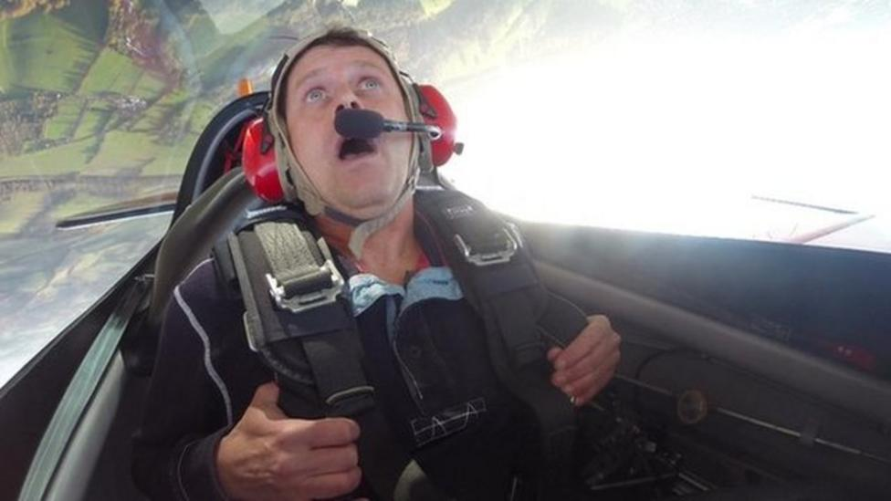 Aerobatic flying reaches dizzy new heights