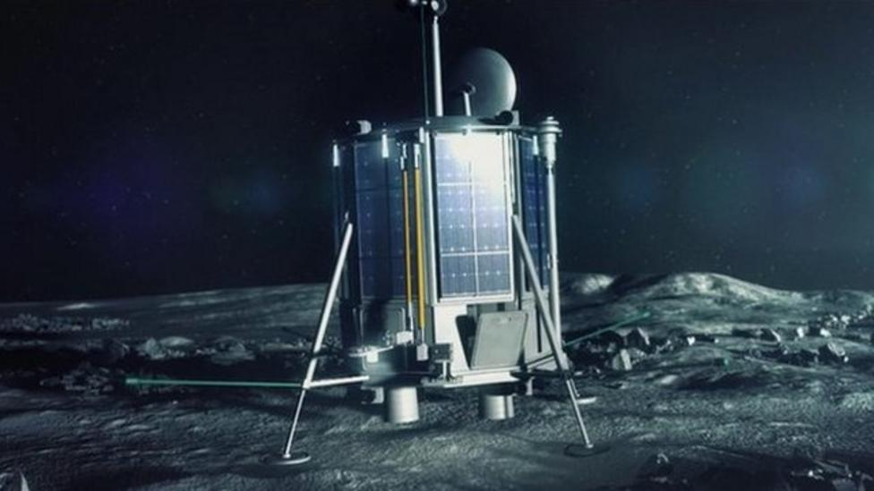 The space mission sending your stuff to the moon