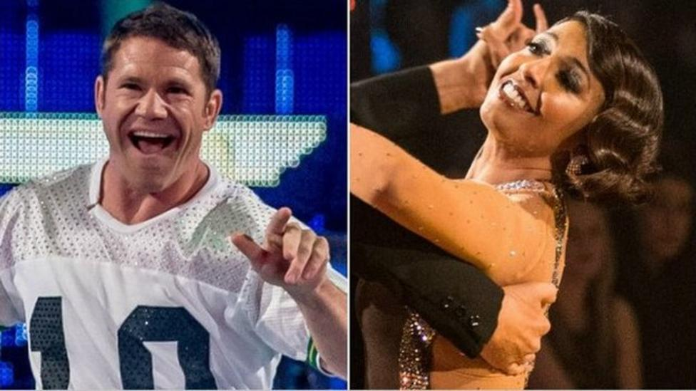 Who was voted off Strictly?