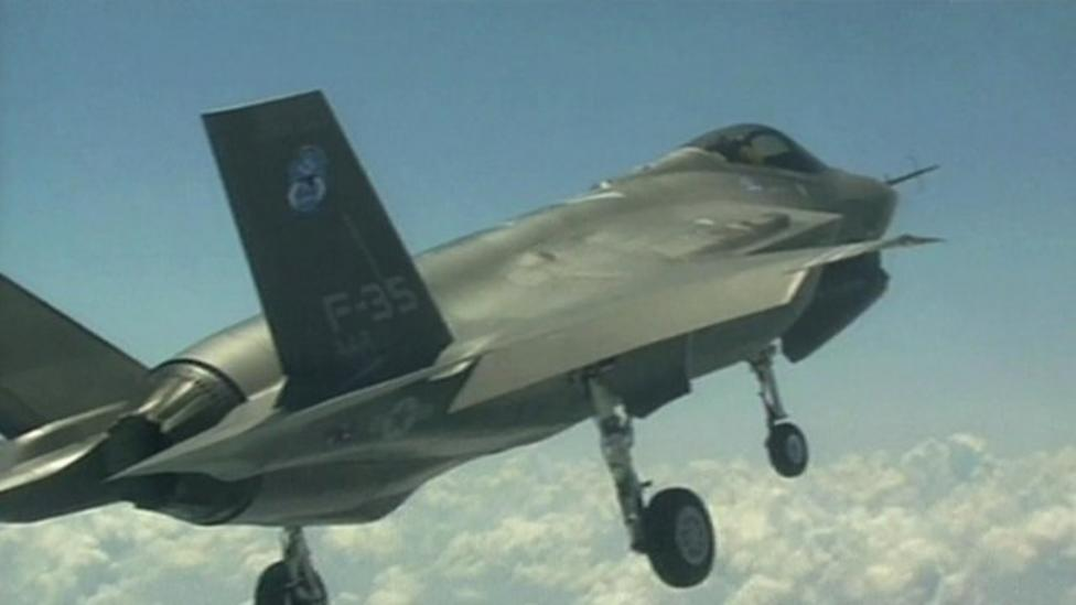 Fighter jet versus games console