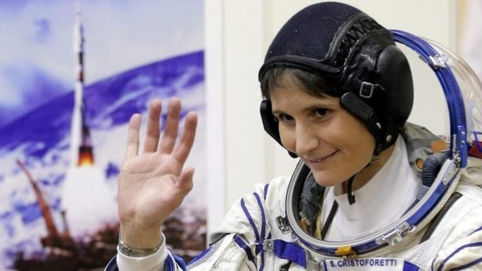 First Italian woman on space station