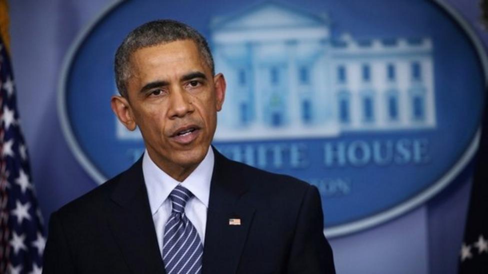 Obama calls for calm in Ferguson