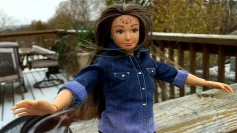 New doll based on 'average' woman