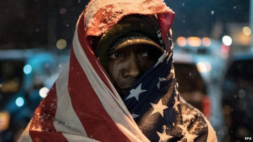 Ferguson quieter after protests