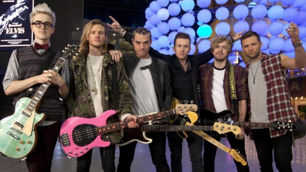 Super-group McBusted chat to Newsround