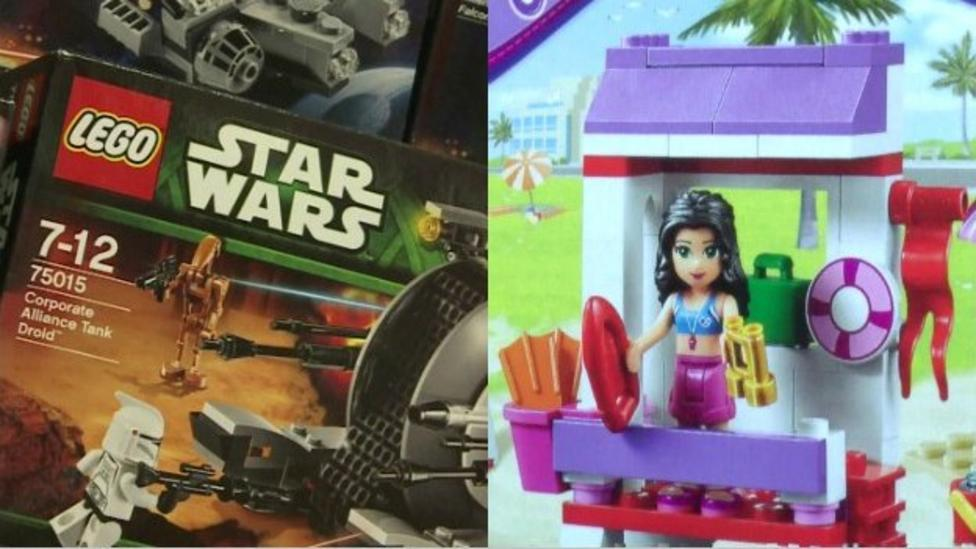 Lego challenged on boy and girl toys
