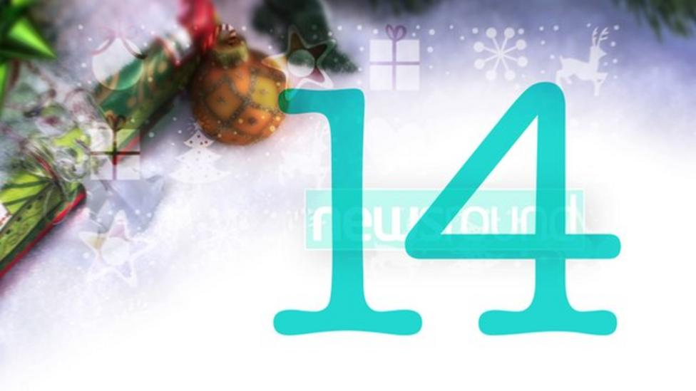 Newsround's joke-a-day advent calendar 2014
