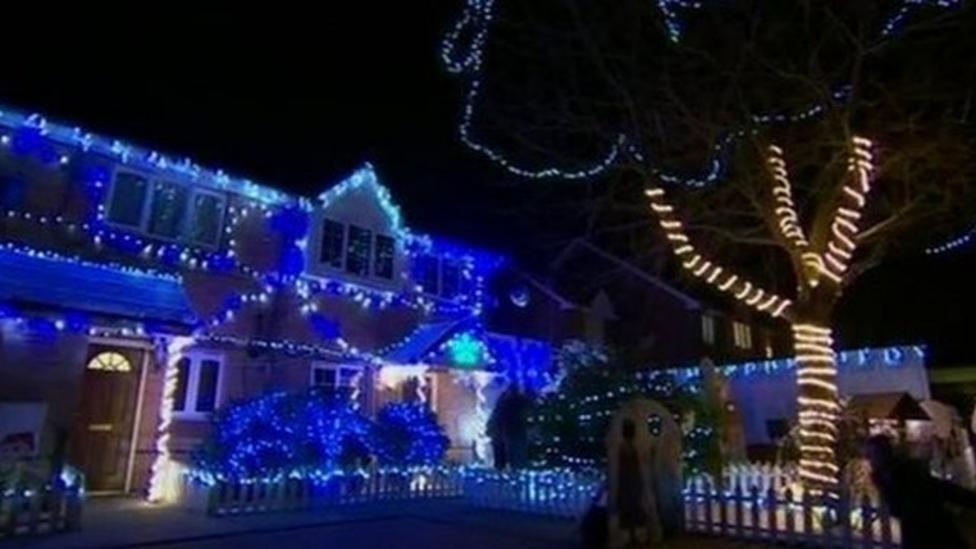 Frozen wonderland appears in London